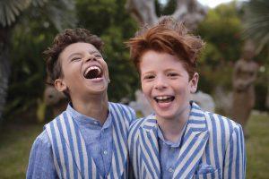 Boys communion wear summer linen range