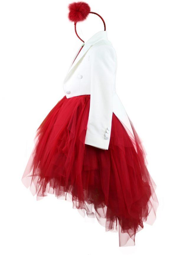 Tails blazer with dress