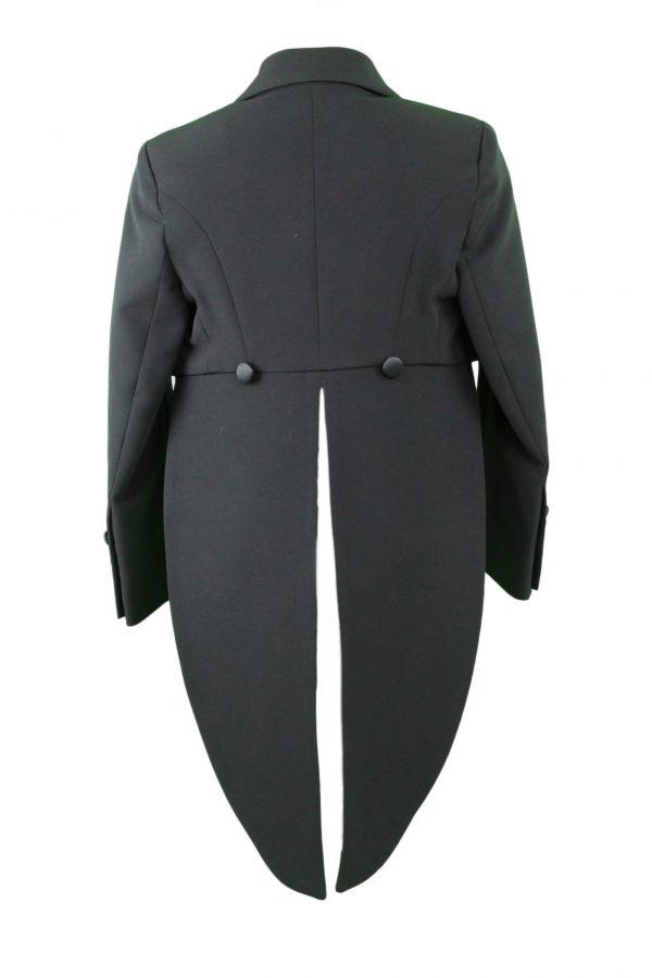 Teen black tails formal blazer