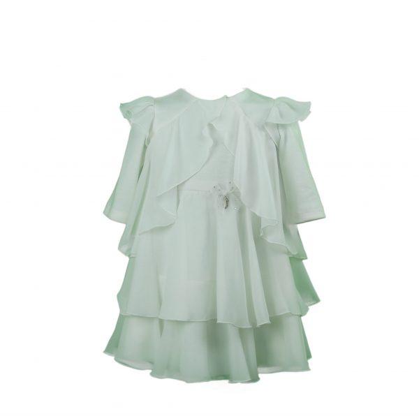 Petit Ivory layered dress