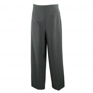 Black palazzo trousers front