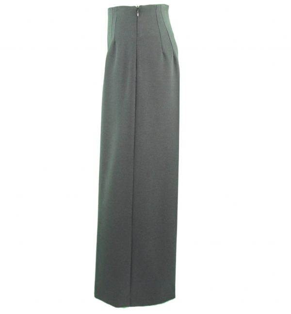 Black palazzo trousers side