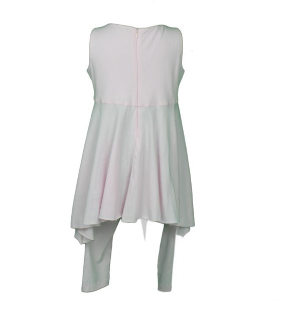 Petit Top & leggings in pale pink back