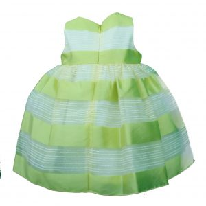 Baby Lemon and Lime dress stripped back