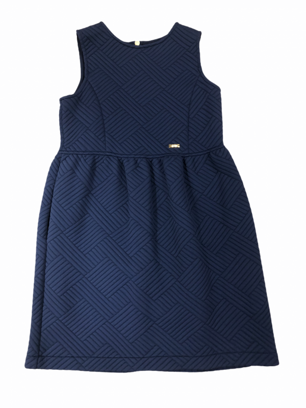 Navy dress with pockets