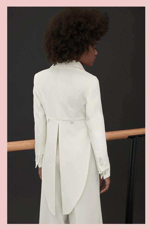 Teen formal tails blazer